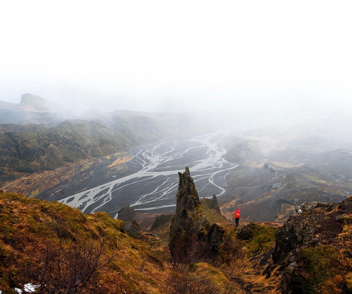 Benjamin Hardman in the Icelandic Highlands