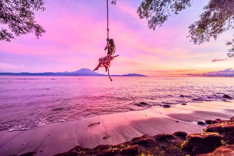 Sunrise swinging