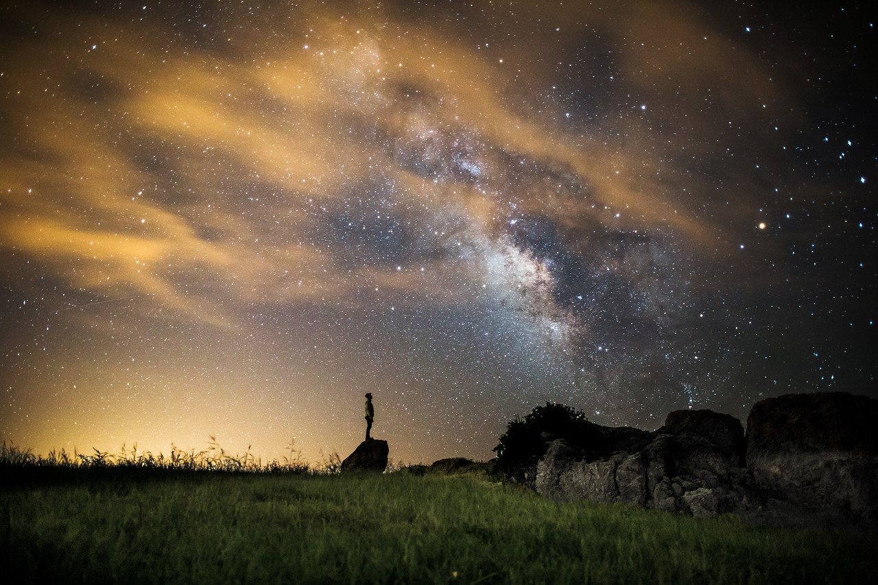 Night Sky Outside of San Luis Obispo, California