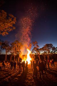 Wombanook Bonfire