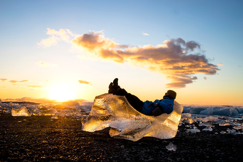 Iceberg Lawn chair
