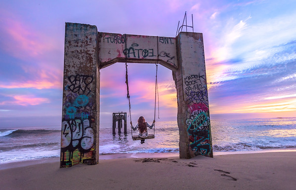 Swing at the Abandoned Pier
