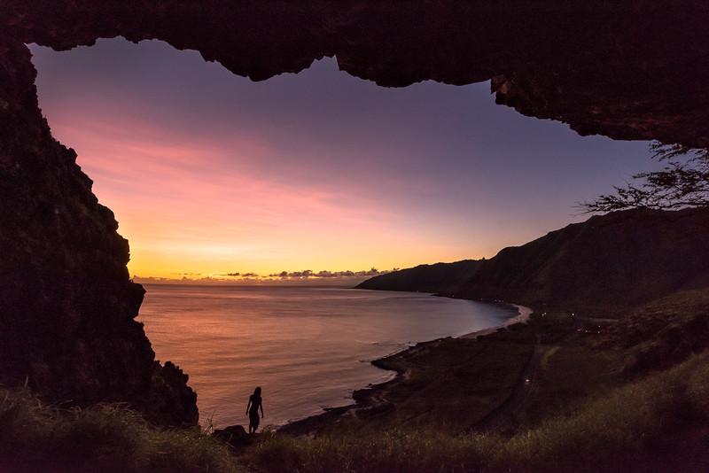 Last Light from the Cliffs