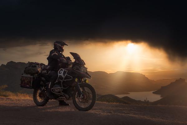 Apache Trail Sunset - USA