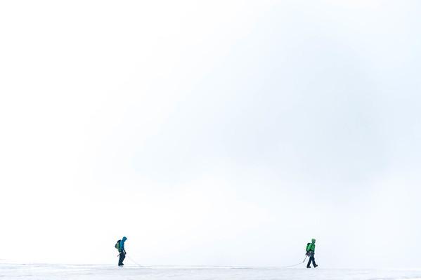 Glacier walk in Norway.