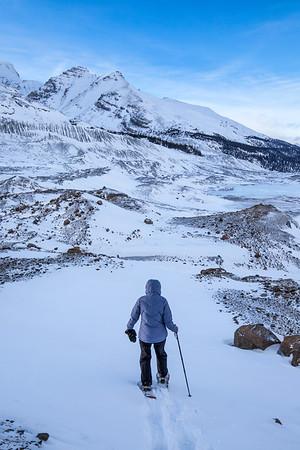 Athabasca Glacier Snowshoe