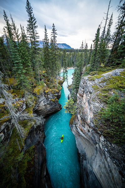 Athabasca Canyon Kayak