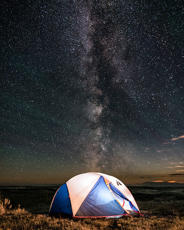 Stargazing in Saskatchewan