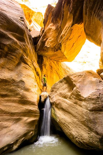 Zion Slot Canyon