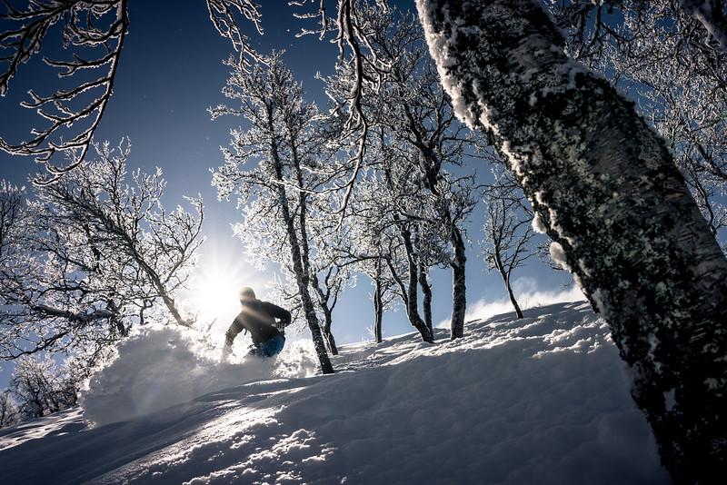 Snowoarding in Hemsedal