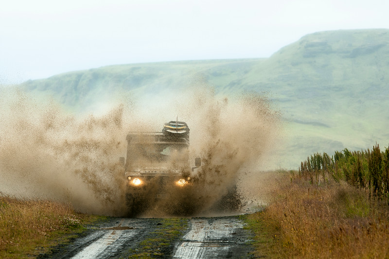 Mudding through Iceland