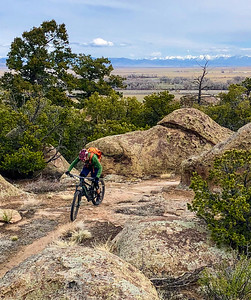 Pedaling The Quarry, Del Norte, CO
