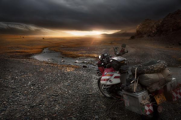 Altai Sunset - Mongolia