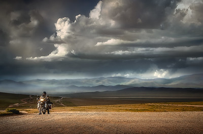 The Steepe Storm - Central Mongolia