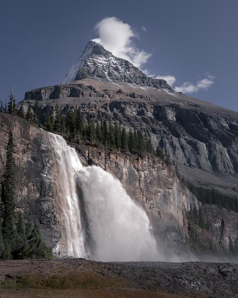 Emperor Falls and Mt Robson