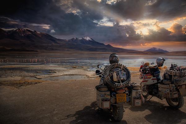 Laguna Sunset - Bolivia