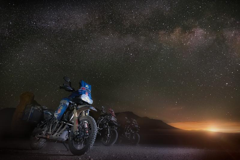 Milky Way Trio - USA