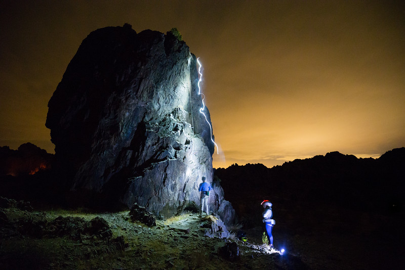 Night Climbing at New Jack City (October 2016)