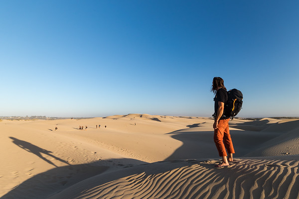 Adventure Photography | Oceano Sand Dunes | Giant Among the Sands
