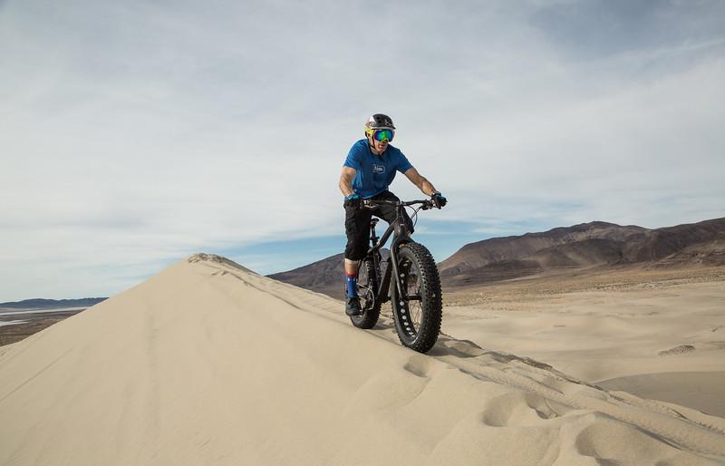 Riding the Sand Mountain Ridgeline