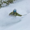 Tele Powder Turns on Talking Mtn