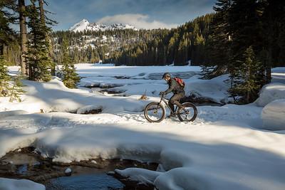 Riding to Todd Lake