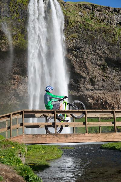 Waterfall Bridge Wheelie