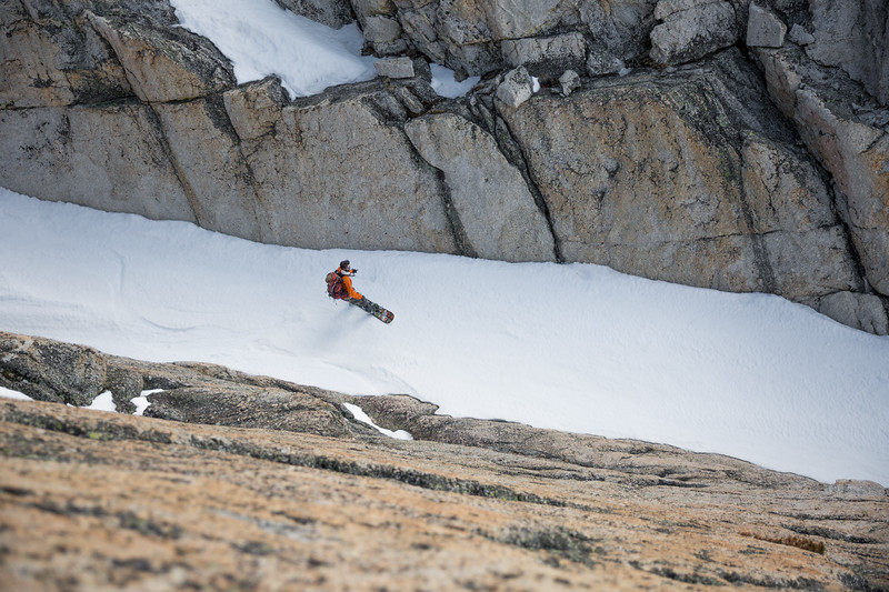Side Couloir Perspective
