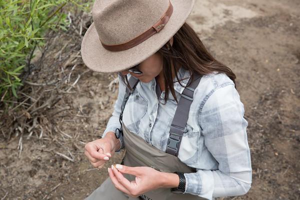 Chelsea Baum (@CherokeeFlyGirl) Tahoe National Forest.  California.