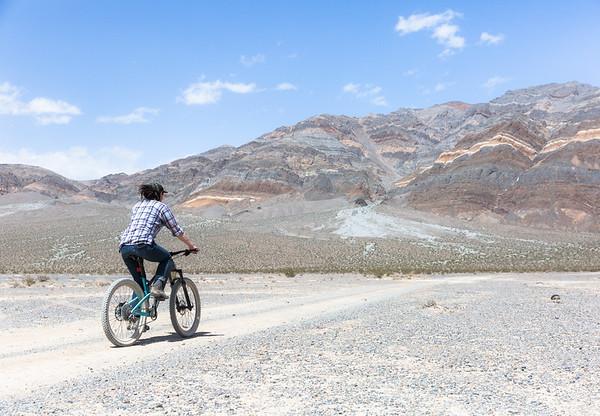 Biking Towards Ancient Geology