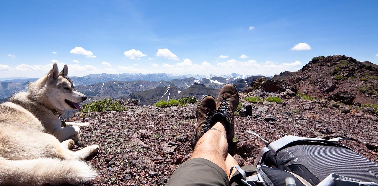 Unnamed Peak Panorama