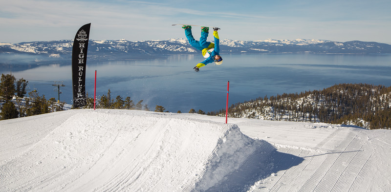 Getting Inverted Above the Lake