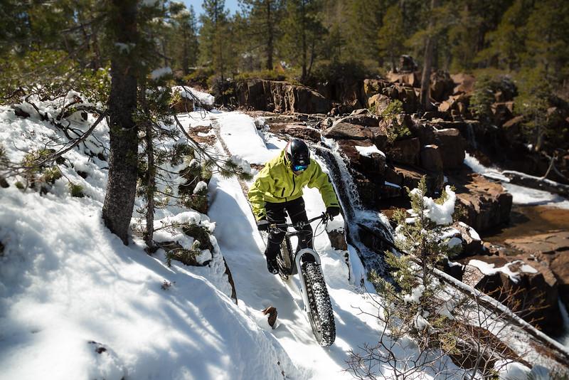 Snow Covered Glen Alpine Lines