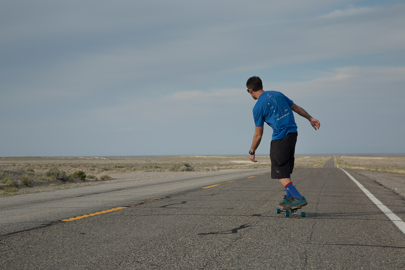 Skating the Loneliest Highway