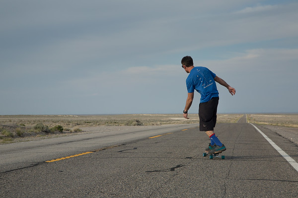Skating the Loneliest Highway