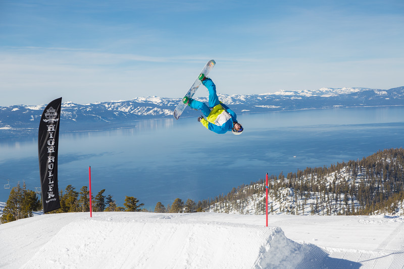 Laid-Out Lake Tahoe Backflip