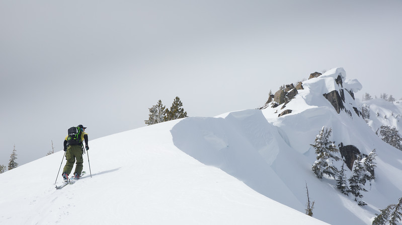Checking Out the Cornices on the Skin Up