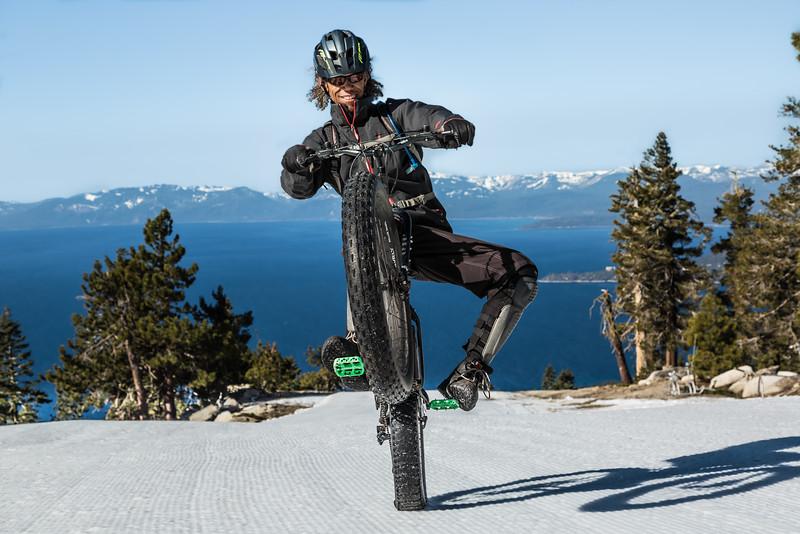 Lake Tahoe Wheelie