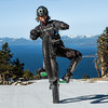 Lake Tahoe Wheelie