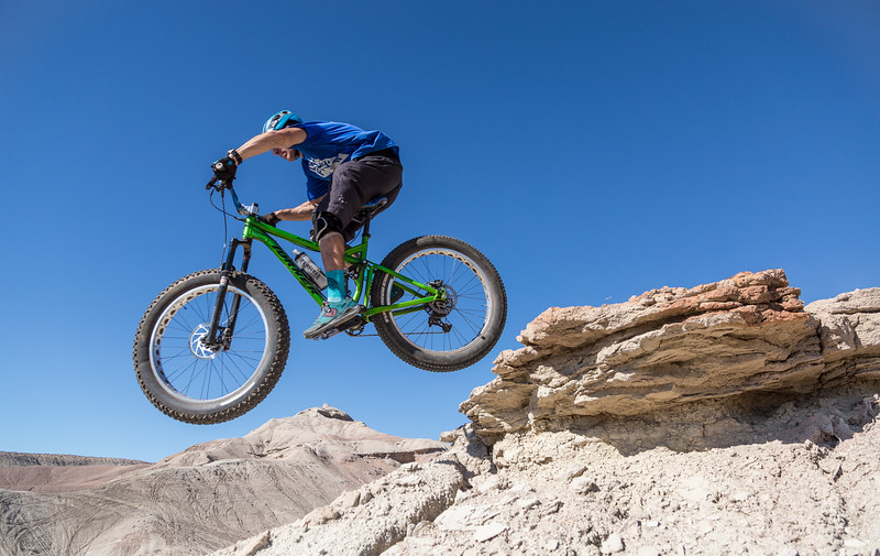 Riding Wilson Canyon