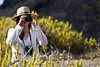 Photographing at Punta Pitt, Isla San Christobal, Galapagos Islands, Ecuador.
