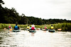 Kayaking marsh creek with Outside Hilton Head, Hilton Head Island, South Carolina, USA, North America.