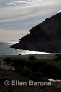 Seascape scenic , Ensenada Grande, Sea of Cortez, Baja California, Mexico.