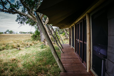 Luxury tent accommodations, &Beyond Xaranna Okavango Delta Camp, Botswana