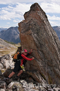 Hiking guide, Lyle Grisedale, Bugaboo Lodge,Heli-hiking vacation, Canadian Mountain Holidays, Canada.