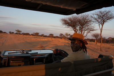 Safari guide, Previous Tsvigu, Okonjima/Africat, Namibia