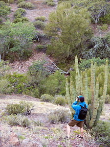 Safari Quest photo cruise passenger, Mike Derzon, Sea of Cortez, Baja California Sur, Mexico.
