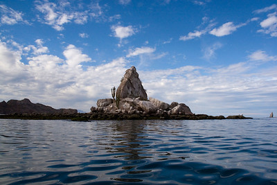 A rocky isleta off Puerto Agua Verde, Sea of Cortez, Baja California Sur, Mexico.