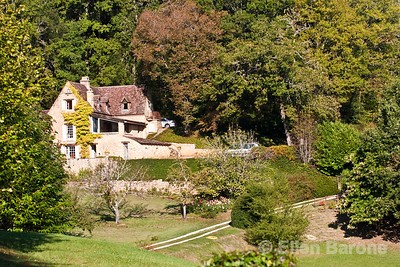 Country home, Dordogne River valley, France.