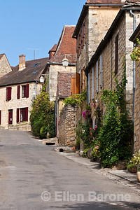 A lovely village street in Domme, France.